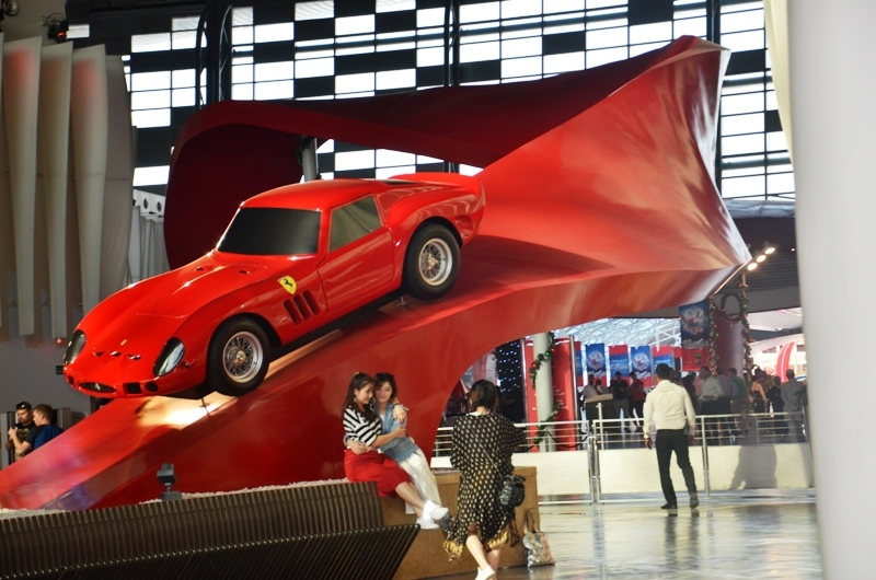 how to get to ferrari world